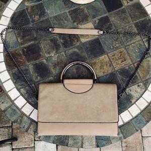 • crossbody tan purse •